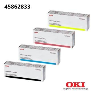 【OKI_ES8473 原廠黃色碳粉】45862833(OKI原廠黃色碳粉匣)