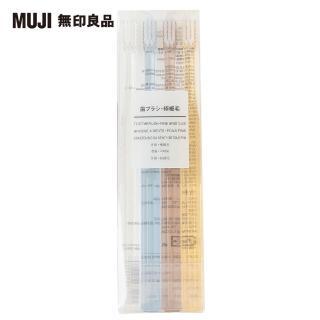 【MUJI 無印良品】牙刷/極細毛//4色組.全長180mm