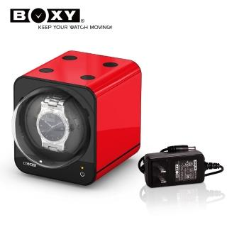 【BOXY 自動錶上鍊盒】Fancy Brick系列-含變壓器(自由堆疊專利 動力儲存盒 機械錶專用 WATCH WINDER)