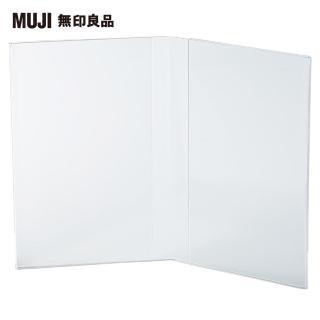 【MUJI 無印良品】壓克力相框.6/雙相片