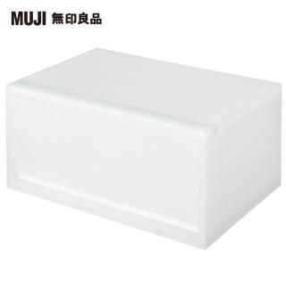 【MUJI 無印良品】PP資料盒/橫式/深型