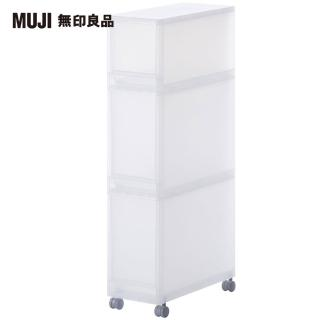 【MUJI 無印良品】PP附輪收納箱/1