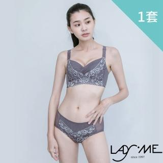 【LADY ME】L型帆船杯系列無鋼圈內衣褲(成套)