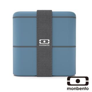 【MONBENTO】原創方型便當盒-牛仔藍(MB-120003020)