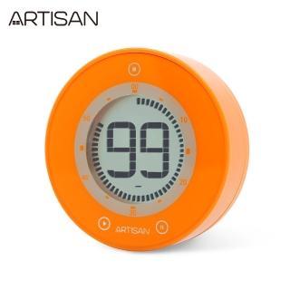 【ARTISAN】圓形計時器-橘(ART01O快速到貨)