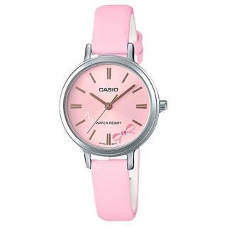 ~CASIO 卡西歐~氣質指針女錶 皮革錶帶 防水 氣質蝴蝶圖樣 LTP~E146L~4A