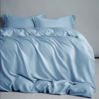 【A-nice】60支 100%全天絲床包薄被套四件組(雙人/多款色系可選)