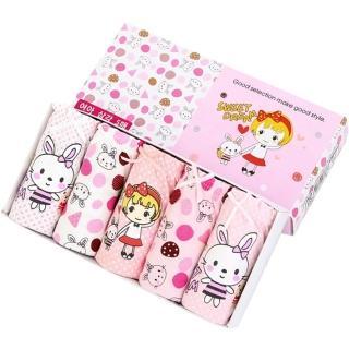 【Baby童衣】中小女童超值內褲5件組 y7025(共12色)