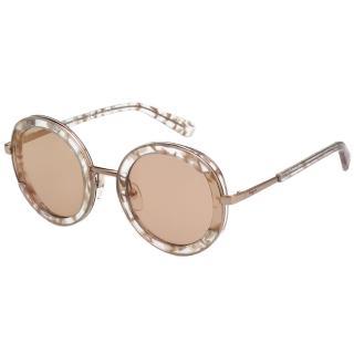 【Salvatore Ferragamo】太陽眼鏡 SF164S(玫瑰金+花漾粉)