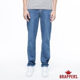 【BRAPPERS】男款 HG-高腰系列-高腰全棉直筒褲(淺藍)