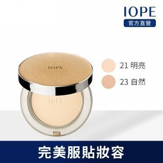 【IOPE 艾諾碧】賦活緊顏絲緞精華粉餅 12g(SPF28 PA+++)