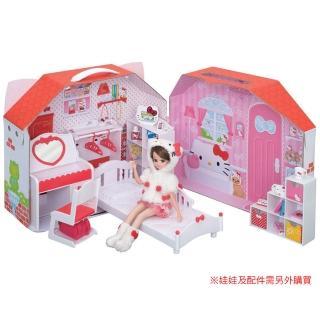 【TAKARA TOMY】莉卡娃娃配件 KITTY莉卡臥房提盒組(女孩 洋娃娃)