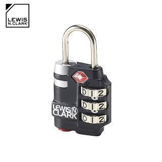 【LEWIS N CLARK】TSA海關安全指示密碼鎖 TSA25(海關鎖、旅行箱、旅遊配件、美國品牌)