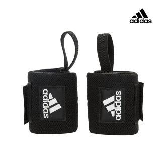 【adidas 愛迪達】Strength 纏繞式護腕(一對)