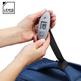 【LEWIS N CLARK】迷你電子旅行行李箱秤 607(行李秤、電子秤、秤重、旅遊配件、美國品牌)