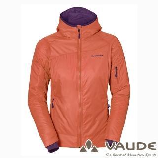 【VAUDE德國原廠】女款Primaloft科技保溫棉保暖外套(VA-05704粉柑15A/登山/旅遊/都會/休閒)