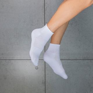 【aPure】除臭襪-多功吸濕排汗科技運動襪(白)