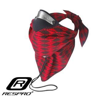 【英國 RESPRO】BANDIT 過濾PM2.5領巾式口罩(紅菱格)