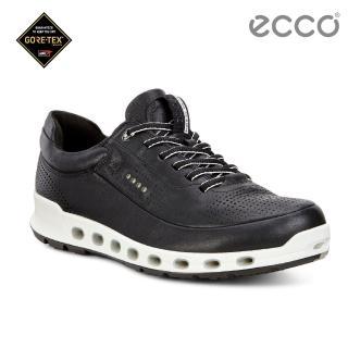 【ecco】COOL 2.0 360度環繞防水休閒運動鞋 男(黑 84251401001)