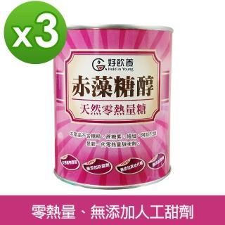 【糖友專區】好飲養Hold in Young赤藻糖醇代糖(600公克/罐)x3入