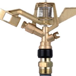 【灑水達人】3/4吋鋅合金外牙360度旋轉長短噴灑距離金屬頭(鋅合金)