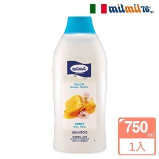 【義大利MILMIL】蜂蜜精華柔順平衡洗髮精(一般適用/750ml)