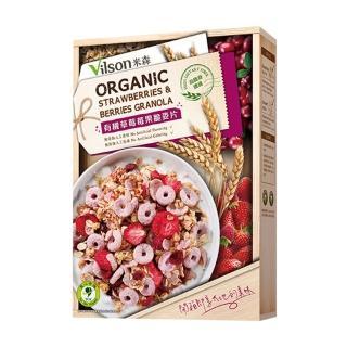 【米森】有機草莓莓果脆麥片(350g/盒)
