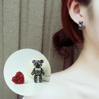 【梨花HaNA】韓國Q感熊星人愛妳耳環