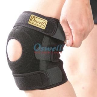 【oswell】S-20矽膠單側條護膝(固定肌肉拉傷或韌帶扭傷)