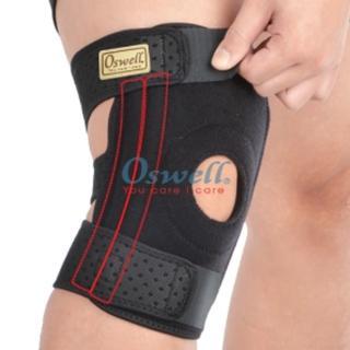 【oswell】S-22矽膠雙側條護膝(此款有加大版)