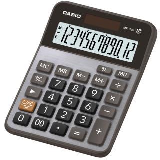 【CASIO 卡西歐】12位數桌上型計算機(MX-120B)