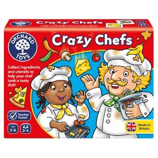 【Orchard Toys】幼兒桌遊-瘋狂廚師(Crazy Chefs Game)