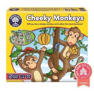 【Orchard Toys】幼兒桌遊-頑皮小猴(Cheeky Monkeys Game)