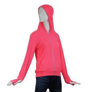 【HOII后益】先進光學美療布-機能光療蒙面拉鍊連帽外套(黃色/紅色任選)