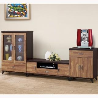 【H&D】積層木8.6尺L型櫃(積層木 8.6尺 L型櫃 電視櫃)