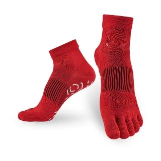 【Titan】太肯五趾功能訓練襪_紅(適合慢跑、健身房項目)