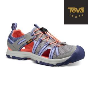 【TEVA】童 Manatee 多功能護趾運動涼鞋(鴿子灰-TV1019403CWLDD/TV1019403YWLDD)