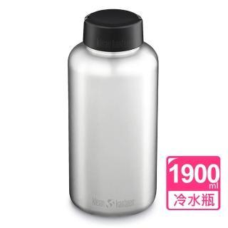 【Klean Kanteen】寬口冷水瓶1893ml(原鋼色)