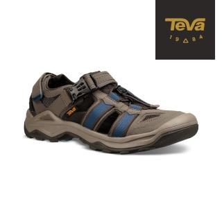 【TEVA】男 Omnium 2 護趾水陸機能涼鞋/雨鞋/水鞋(藍橄欖綠-TV1019180BNGC)