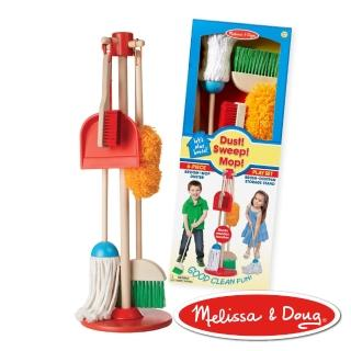 【Melissa   Doug 瑪莉莎】角色扮演 -  幼兒掃地清潔工具組