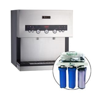 【德克生活】Q3-2S桌上型冷熱雙溫飲水機(贈公規5道式RO逆滲透)