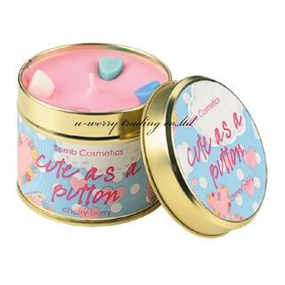 【Bomb Cosmetics】Cute as a Button Candle  可愛按鈕白麝香(香氛蠟燭)