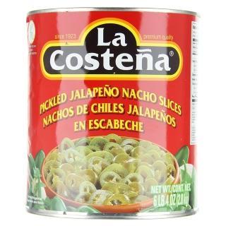 【Lacostena】切片辣椒 營業用(墨西哥風味辣椒一試就上癮)