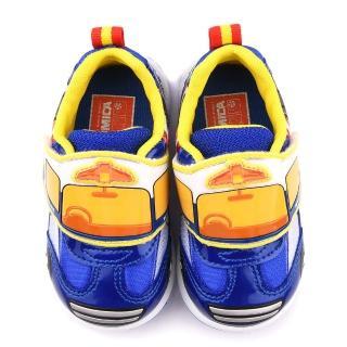 【童鞋城堡】Tomica多美小汽車 中童 警車運動鞋(TM7773-藍)