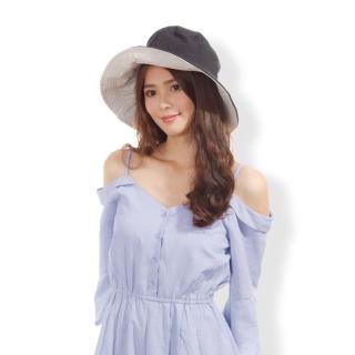 【日本AUBE】雙面雙色可折疊抗UV遮陽帽(日本進口)