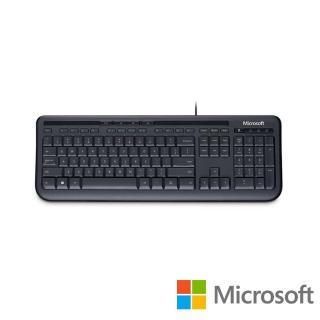 【Microsoft 微軟】標準鍵盤 600(黑)