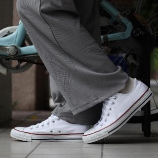 【CONVERSE】帆布鞋 All Star 經典 男鞋 女鞋 基本款  低筒 情侶鞋 穿搭 球鞋 白(M7652C)