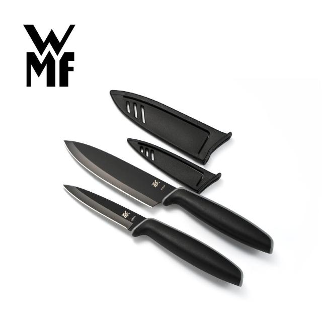 【德國WMF】Touch不鏽鋼雙刀組附刀套