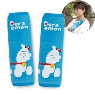 【Doraemon 哆啦A夢】KISS 安全帶護套組(2入/台灣製)