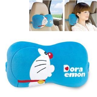 【Doraemon 哆啦A夢】KISS 座椅頸靠枕/午安枕(台灣製)